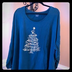 Christmas tree tunic 5X 34/36W